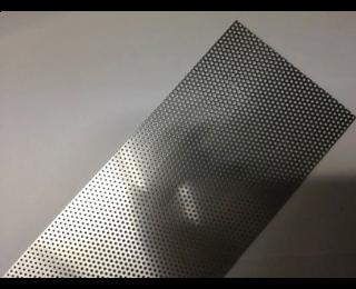 Aluminium rooster 100x6cm