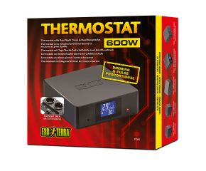 Exo Terra thermostaat dubbele aansluiting 600w