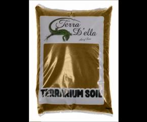 Terra Della terrarium zand Geel 5kg