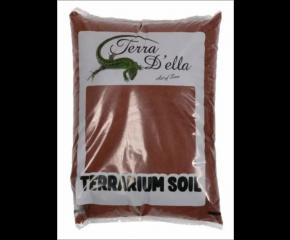 Terra Della terrarium zand Rood 5kg