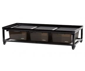 Reptech Breeding rack with wheels 90x45x23