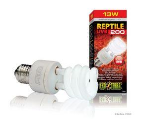 Exo Terra UVB Reptile 200 13 watt Compact