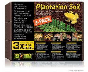 Exo Terra Plantation Soil 3-pack 650gr