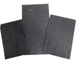 Leisteen plaat 27x18x0.4 cm S