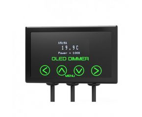Microclimate Oled Dimming thermostat black