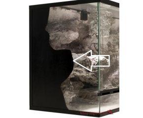 Folie leer zwart 45 cm x 100 cm