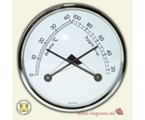 Dragon Hygro- Thermometer Messing 7cm