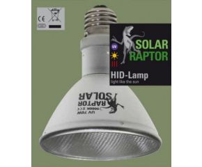 Solar Raptor 35W PAR20 UV lamp Spot excl ballast
