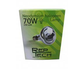 RepTech Neodymium Halogeen Lamp 70W