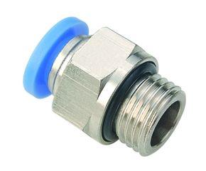 RB Rechte Inschroef Koppeling 8mm x G3/8 voor 24volts pomp