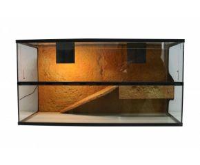 Schildpadden terrarium 80x40x50 3D Rock