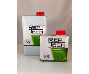 RepTech Epoxy hars (2-componenten) inclusief harder 1500g