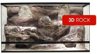 Blue-Lagoon 3D Rock Terrarium Nieuw Design